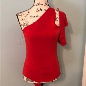 NWT Zara orange bodysuit, size medium
